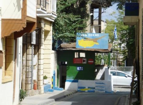 Το οδόφραγμα-τουριστικό αξιοθέατο που αντικατέστησε το οδόφραγμα της Λήδρας