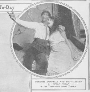 Ο Lou Tellegen σε θεατρική παράσταση το 1914