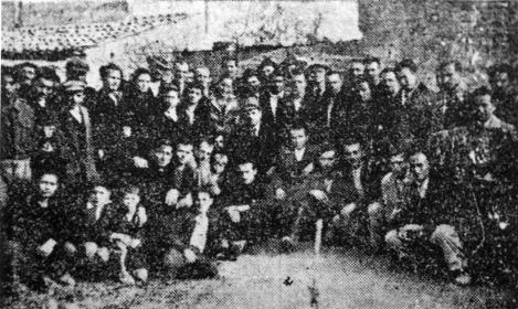 Εγκαίνια του Εργατικού Κέντρου Περιστερίου  (Παράρτημα ΕΚΑ) 11 Φεβρουαρίου 1946