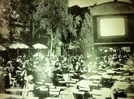 Berlin 1916-open air cinema