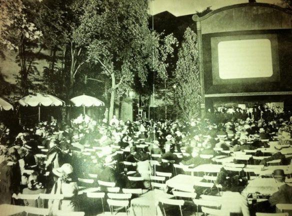Berlin 1916-open air cinema